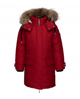 Red winter coat Gulliver