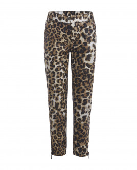 Printed mid-season trousers Gulliver