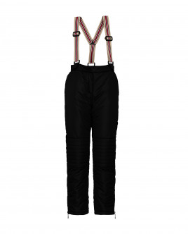 Black warm winter trousers Gulliver