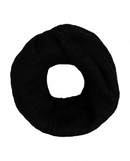 Black knitted collar Gulliver