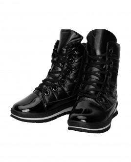 Black winter boots Gulliver