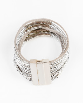 Silver-coloured bracelet Gulliver