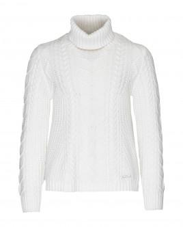 Белый свитер Gulliver Gulliver Wear 21909GJC3301 белого цвета