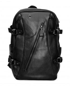 Черный рюкзак в комлекте с USB кабелем Gulliver