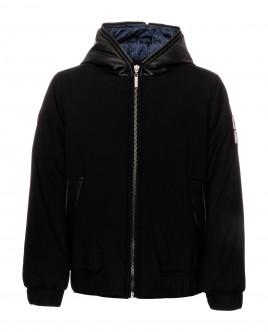 Черная демисезонная куртка 21910BJC4101 фото