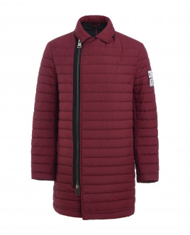 Burgundy mid-season coat Gulliver