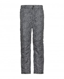 Серые утепленные демисезонные брюки Gulliver