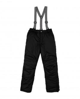 Черные утепленные зимние брюки Gulliver
