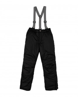 Black warm winter trousers Gulliver