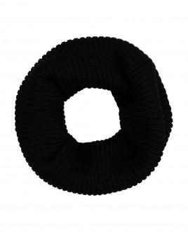 Black knitted collar Gulliver
