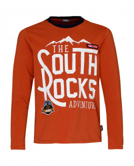 Orange long sleeve t-shirt Gulliver