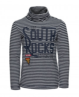 Striped printed turtleneck Gulliver