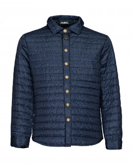 Blue mid-season jacket Gulliver