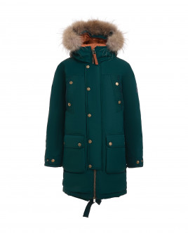 Green winter coat Gulliver