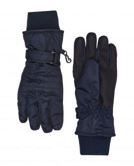 Синие плащевые перчатки Gulliver