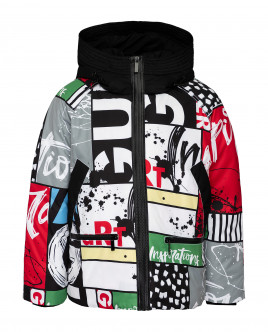 Printed winter jacket Gulliver