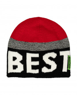 Striped knitted lined hat Gulliver