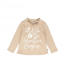 Beige long sleeve t-shirt Gulliver