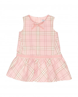 Pink plaid dress Gulliver