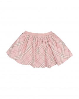 Pink check skirt Gulliver