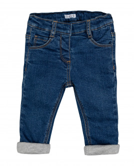 Синие утепленные джинсы Gulliver Gulliver