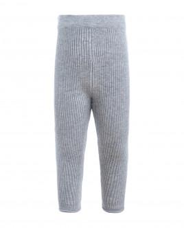 Grey knitted lurex leggings Gulliver