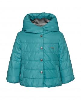 Бирюзовая демисезонная куртка