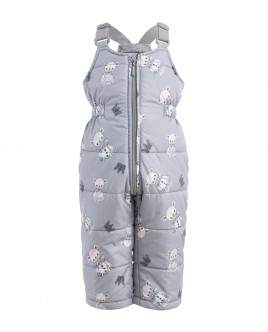 Grey ornate overalls Gulliver