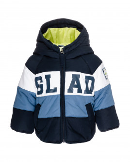 Striped mid-season jacket Gulliver
