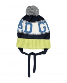 Вязаная шапка на подкладке Gulliver