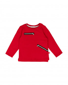 Red long sleeve t-shirt Gulliver