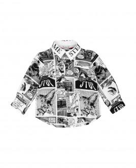 Рубашка с принтом Gulliver