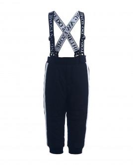 Черные утепленные демисезонные брюки Gulliver