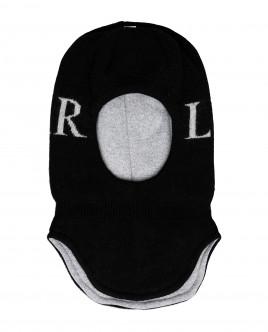 Черная шапка-шлем