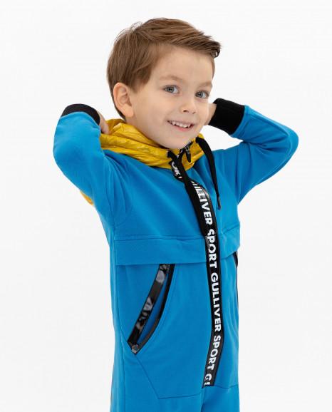Трикотажный комбинезон для мальчика