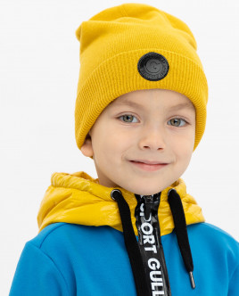 Yellow knitted hat Gulliver