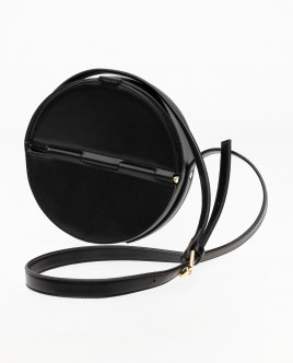 Black round bag Gulliver