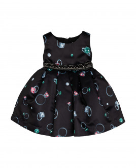 Black ornate dress Gulliver
