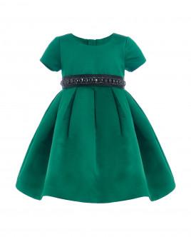 Зеленое нарядное платье Gulliver
