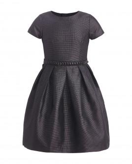 Черное нарядное платье Gulliver