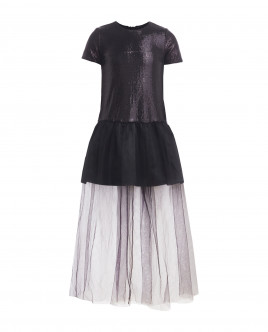 Black tulle dress Gulliver