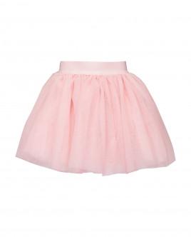 Розовая нарядная юбка