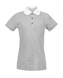 Grey polo shirt Gulliver