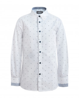 White shirt with letter prints Gulliver