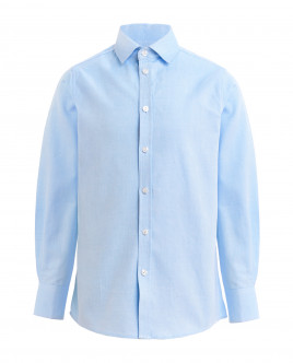 Light blue textured shirt Gulliver