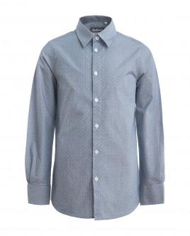 Grey ornate shirt Gulliver