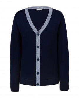 Blue knitted cardigan Gulliver