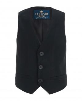 Black classic vest Gulliver