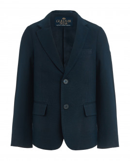 Blue tweed blazer Gulliver
