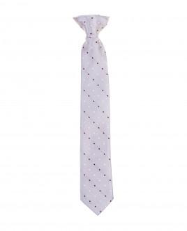 Grey clip on tie Gulliver